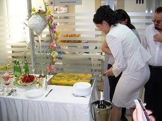Торт от ресторана Порт