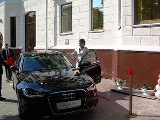 Презентация автомобиля Ауди А6