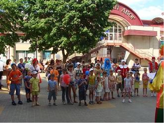 Международный день защиты детей. Белгородпромстройбанк