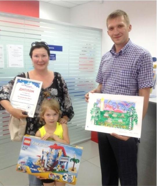 Восточный экспресс банк  Белгороде поздравил финалистов детских ресурсов