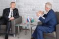 Александр Беглов поговорил с Евгением Савченко о зарплатах и дольщиках