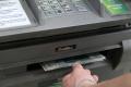 В Москве попытались вскрыть банкомат с помощью лома и петарды