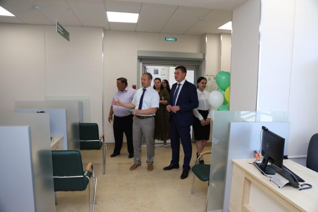 В Алексеевке открылся новый офис Россельхозбанка