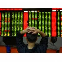 Крупное падение котировок произошло на фондовых биржах Китая