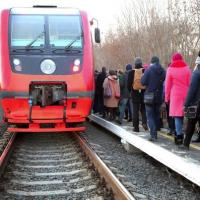 В Белгороде изменится график движения городского поезда